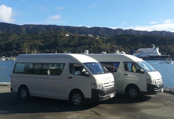Picton Ferry Pickup And Drop Off By Marlborough Shuttles In Blenheim NZ