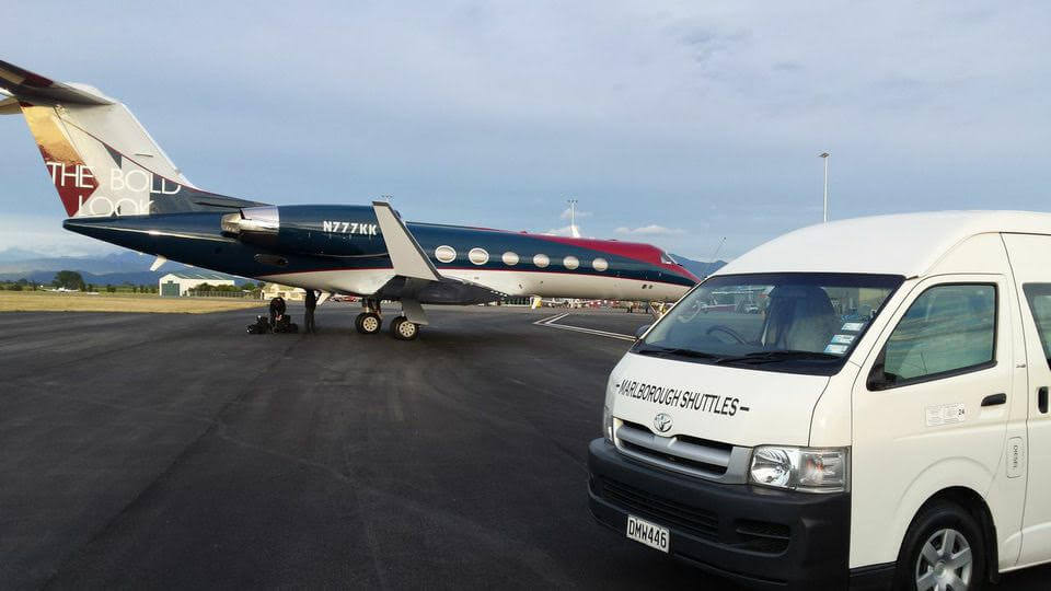 Airport Pickup And Drop Off By Marlborough Shuttles In Blenheim NZ